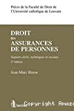 Droit des assurances de personnes : aspects civils, techniques et sociaux : 2ème édition