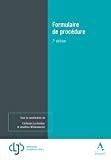 Formulaire de procédure : septième édition