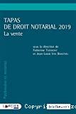 Tapas de droit notarial 2019