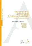Réformes des droits de l'insolvabilité, de l'entreprise et des sociétés : impact sur les professions libérales