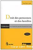 Droit des personnes et des familles : 2ème édition