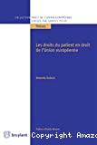 Droits du patient en droit de l'Union européenne