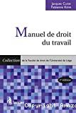 Manuel de droit du travail : 2ème édition