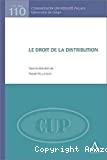 Le Droit de la distribution