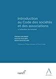 Introduction au Code des sociétés et des associations à l'attention du notariat