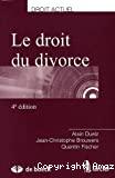 Le Droit du divorce : 4ième édition
