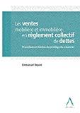 Ventes mobilière et immobilière en règlement collectif de dettes : procédures et limites du privilège du créancier