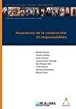 Assurances de la construction et des responsabilités