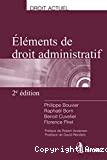Eléments de droit administratif ; 2ème édition