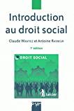 Introduction au droit social : 7ème édition : droit social