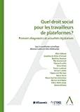 Quel droit social pour les travailleurs de plateformes ?