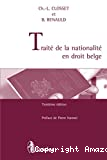Traité de la nationalité en droit belge : troisième édition