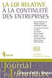 La Loi relative à la continuité des entreprises