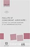 Faillite et concordat judiciaire : un droit aux contours incertains et aux interférences multiples : journées d'études : jeudi 25 avril 2002 - Vendredi 26 avril 2002 : Thierry Bosly, et alii. -