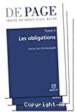 Les Obligations : volume 1 : introduction, source des obligations (première partie)
