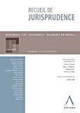Recueil de jurisprudence : responsabilité, assurances, accidents du travail : volume IV, jurisprudence 2014