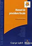 Manuel de la procédure fiscale