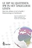 Le DIP au quotidien : droit des affaires et de la famille = IPR un het dagelijkse leven : ondernemings-en familierecht