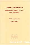Liber amicorum : commission droit et vie des affaires