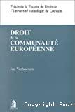 Droit de la Communauté européenne