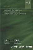 Points clé de l'audit = Key Audit Matters (KAM) = Kernpunten van de controle