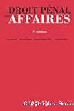 Droit pénal des affaires 2ème édition