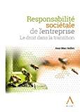 Responsabilité sociétale de l'entreprise : le droit dans la transition