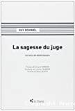La Sagesse du juge : au-delà de Montesquieu