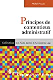 Principes de contentieux administratifs