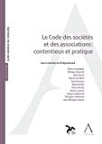 Le code des sociétés et des associations