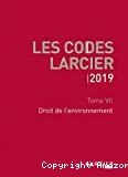 Droit de l'environnement : tome VII : 2019