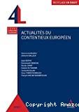 Actualités du contentieux européen