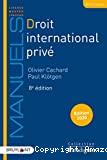 Droit international privé : huitième édition