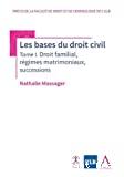 Les Bases du droit civil : droit familial, régimes matrimoniaux, successions